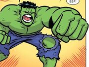 Bruce Banner (Earth-Unknown) from Amazing Spider-Man Vol 3 1 001