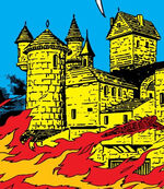 Castle Doom (Upstate New York), Jonathan Storm (Earth-616) from Fantastic Four Vol 1 5