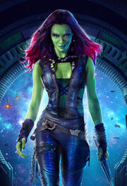 Gamora (Earth-199999) from Guardians of the Galaxy (film) poster 002