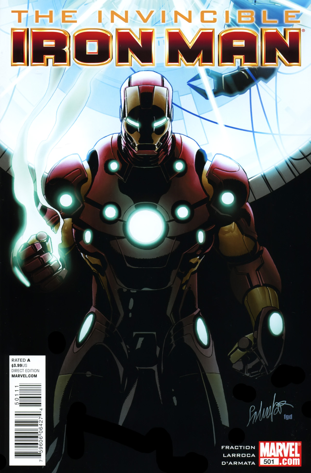 Invincible iron man vol 1 501 marvel database fandom powered by wikia - Iron man 1 images ...