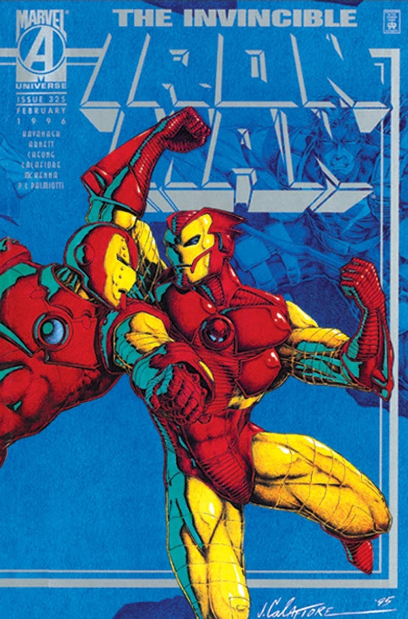 1995 Hawkeye Terry Kavanagh Jim Cheung Vol.1 The Invincible Iron Man No.323