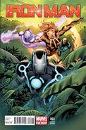 Iron Man Vol 5 3 Land Variant