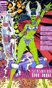 Jennifer Walters (Earth-Unknown) from Sensational She-Hulk Vol 1 50 0004