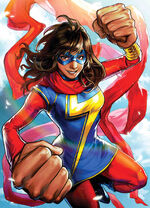 Magnificent Ms. Marvel Vol 1 3 Marvel Battle Lines Variant