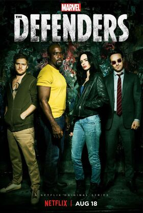 Marvel's The Defenders poster 003