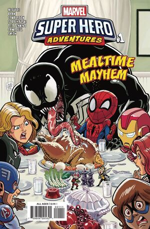 Marvel Super Hero Adventures Captain Marvel - Mealtime Mayhem Vol 1 1