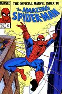Official Marvel Index to Amazing Spider-Man Vol 1 2