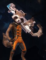 Rocket Raccoon (Earth-TRN012) from Marvel Future Fight 001