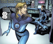 Susan Storm (Earth-1610) and Reed Richards (Earth-1610) from Ultimate Fantastic Four X-Men Annual Vol 1 1 0001