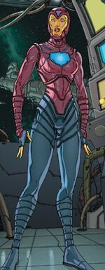 Tana Nile (Earth-616) from Annihilation The Nova Corps Files Vol 1 1 001