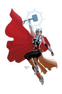 Thors Vol 1 1 Ant-Sized Variant (Back Cover)
