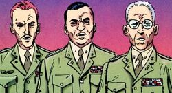 United States Army (Earth-3839) from Batman and Captain America Vol 1 1 001