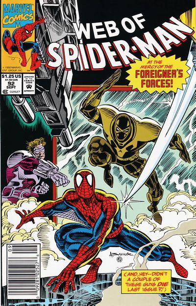 Web of Spider-Man Vol 1 92