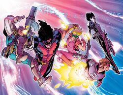X-Force (Earth-42466) from Deadpool vs. X-Force Vol 1 1 001