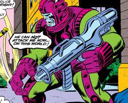 Zorr (Luphomoid) (Earth-616) from Nova Vol 1 1 0001