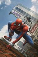 Amazing Spider-Man Annual Vol 4 1 Marvel's Spider-Man Video Game Variant Textless