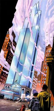 Baxter Building (Earth-1610) from Ultimate Fantastic Four Vol 1 1 001