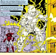 Ghost (Earth-616) and Anthony Stark (Earth-616) from Iron Man Vol 1 221 001