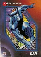 Henry McCoy (Earth-616) from Marvel Universe Cards Series III 0001