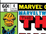 Marvel Two-In-One Annual Vol 1 4