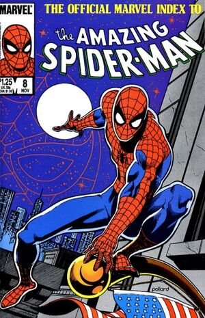 Official Marvel Index to Amazing Spider-Man Vol 1 8