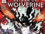 Return of Wolverine Vol 1 5