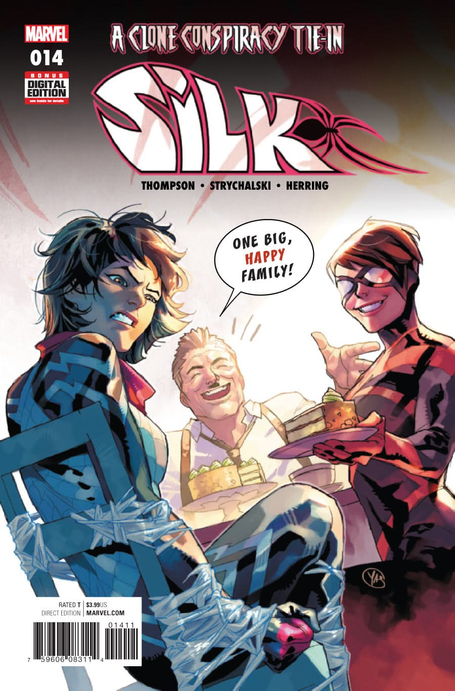 Silk Vol 2 14 Marvel Database Fandom Powered By Wikia
