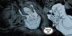 Stephen Strange (Earth-616) and the Bones of Eh-Yuh from Doctor Strange and the Sorcerers Supreme Vol 1 6 001