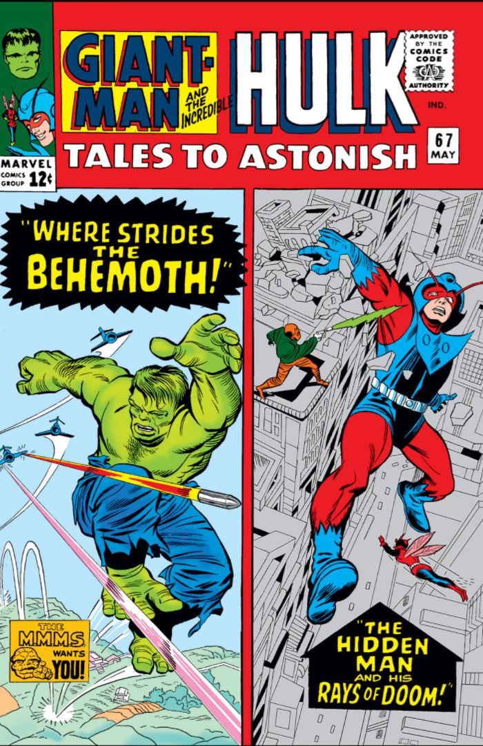 Tales to Astonish Vol 1 67