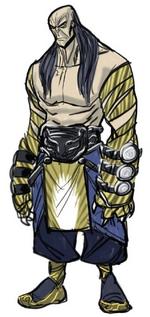 Tiger-Claw (Earth-616) Concept Art