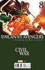 Uncanny Avengers Vol 3 8 Civil War Variant