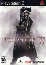 Blade II video game cover