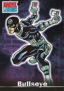 Bullseye (Lester) (Earth-616) from Marvel Legends (Trading Cards) 0001