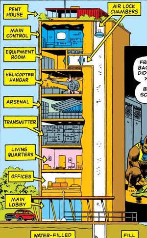 Chemco Building from Daredevil Vol 1 10 002
