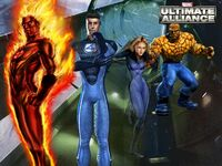 Fantastic Four (Earth-6109) from Marvel Ultimate Alliance 001