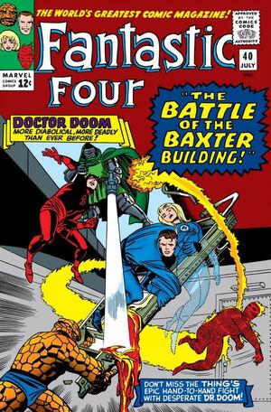 Fantastic Four Vol 1 40