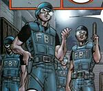Federal Bureau of Investigation (Earth-58732) from Punisher Official Movie Adaptation Vol 1 1 0001