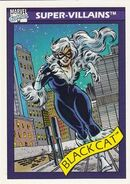 Felicia Hardy (Earth-616) from Marvel Universe Cards Series I 0001