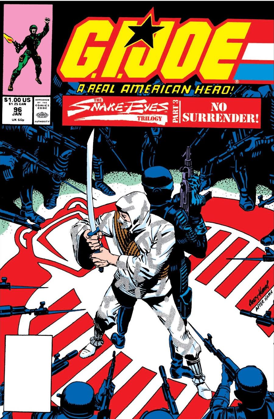 G.I. Joe A Real American Hero Vol 1 96