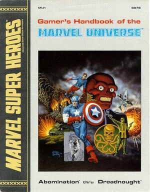 Gamer's Handbook of the Marvel Universe Vol 1 1