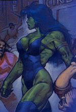 Jennifer Walters (Earth-9511) from The Last Avengers Story Vol 1 1 0001