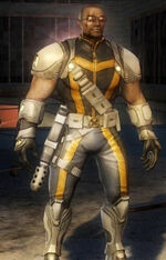 Lucas Bishop (Earth-6109) from Marvel Ultimate Alliance 2 0001