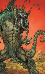 Man-Thing Thang Thoom (Warp World) (Earth-616) from Infinity Wars Sleepwalker Vol 1 1 001