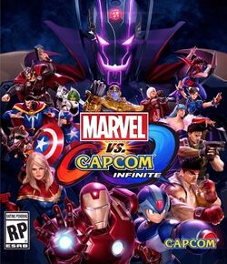 Marvel vs. Capcom Infinite box art