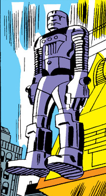 File:Mining Robot (Earth-6297) from Journey into Mystery Vol 1 101 001.png