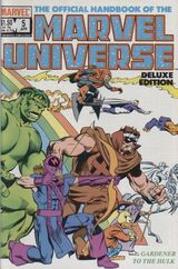 Official Handbook of the Marvel Universe Vol 2 5