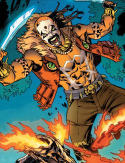 Sergei Bushman (Warp World) (Earth-616) from Secret Warps Ghost Panther Annual Vol 1 1 001