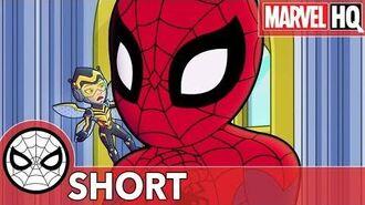 Spidey & The Wasp Ruin Rhino's Rampage! Marvel Super Hero Adventures - Stomp and Listen SHORT
