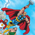 Thor Odinson (Earth-398) from Avengers Vol 3 2 0001