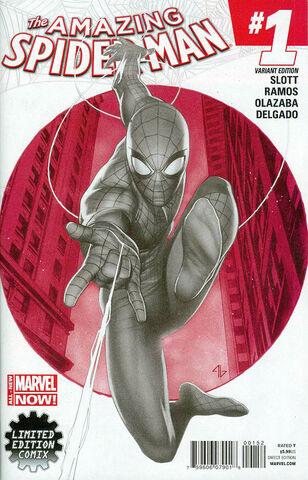File:Amazing Spider-Man Vol 3 1 Granov Sketch Variant.jpg